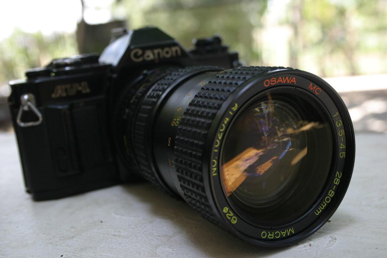 lensa + kamera murah