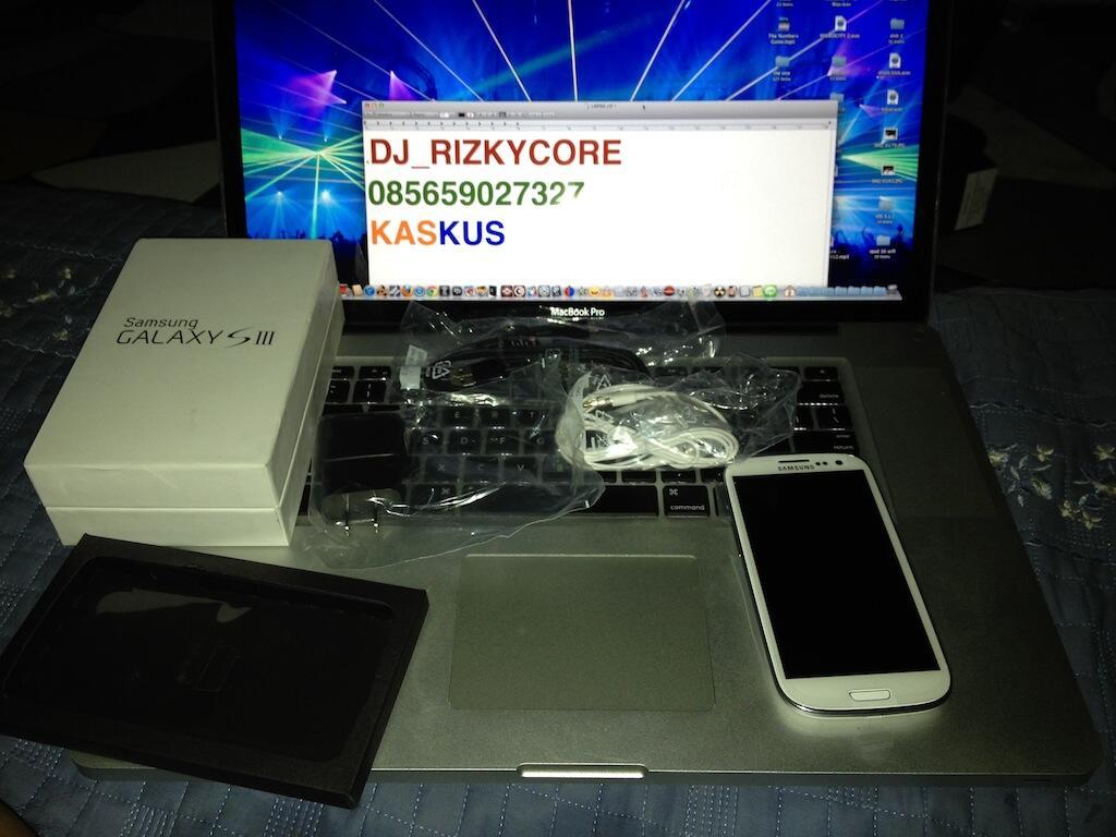 MURAH ! BNOB : Samsung Galaxy S3 / iii White CDMA/GSM + Paket 12GB BANDUNG/JAKARTA
