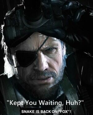 [Upcoming] Metal Gear Solid : Ground Zero