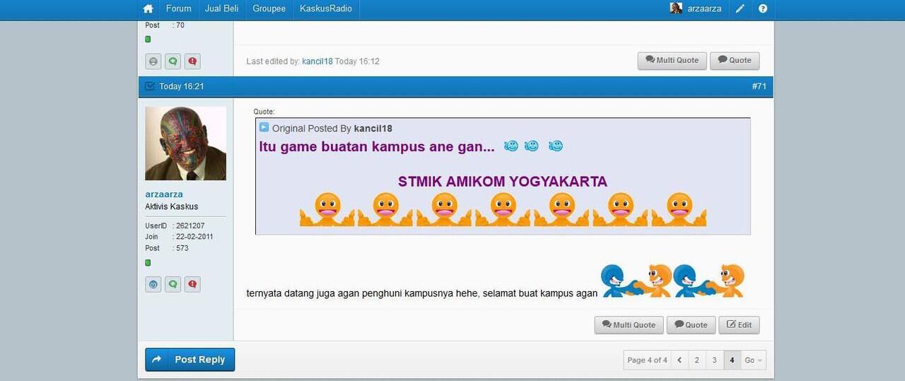 [karya anak indonesia] game panjat pinang populer di GooglePlay!!