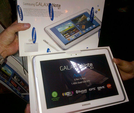 NEW SAMSUNG GALAXY NOTE 10.1 WHITE . BARU SEGEL MURAH