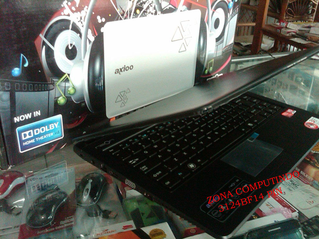 Axioo Neon BNE DualCore BNIB Rp. 3.200.000,- Bogor