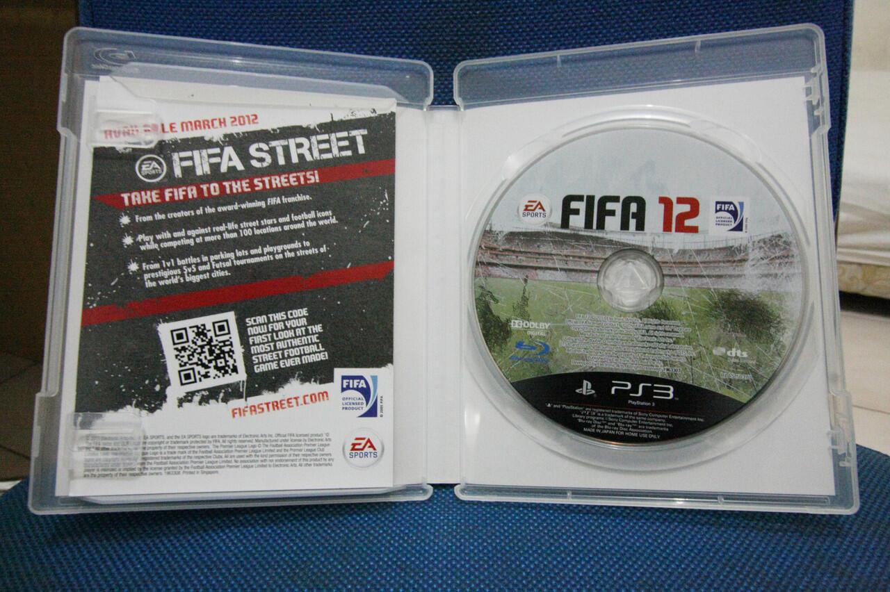 BD PS3 - FIFA 12