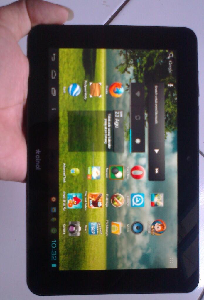 JUAL: Ainol Novo 7 Aurora LG IPS Screen Version Android 4.0 Tablet PC 7 Inch 8GB 1GB