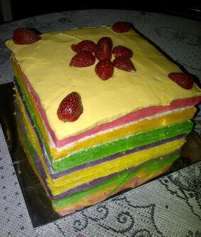 (????) Rainbow Cake !! Kue Pelangi !! Bekasi (????)