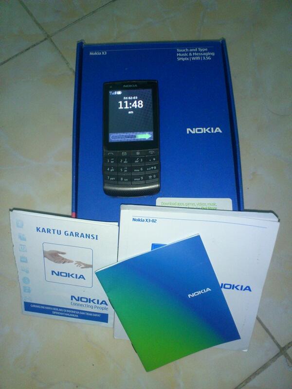 Nokia X3-02 Murah Meriah MAMPIR GAN..!!!