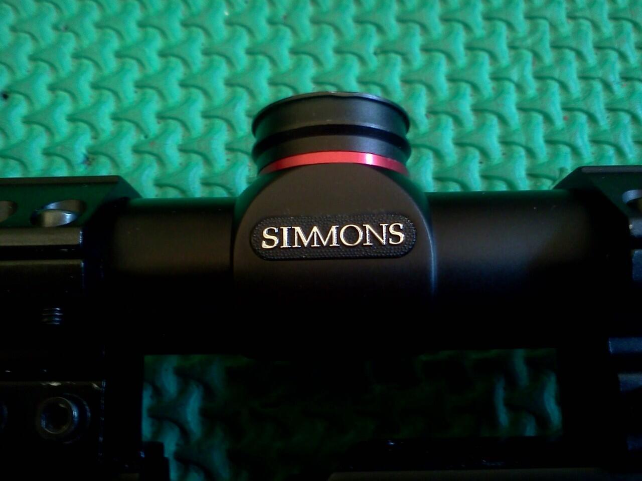 Terjual teleskop simmons 3 9x50 buat senapan kaskus