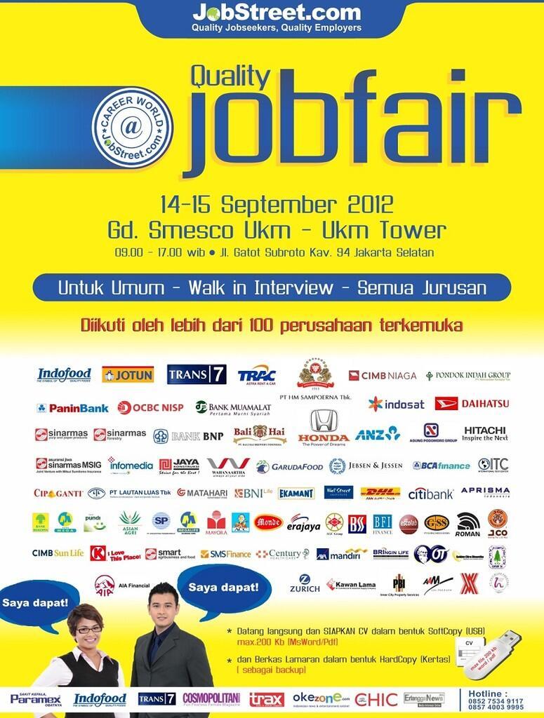 Jadwal job fair