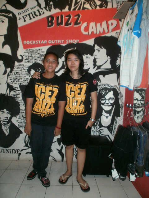 """Bassist Cantik & Keren Prinzes """"Icez"""" Amanda"""