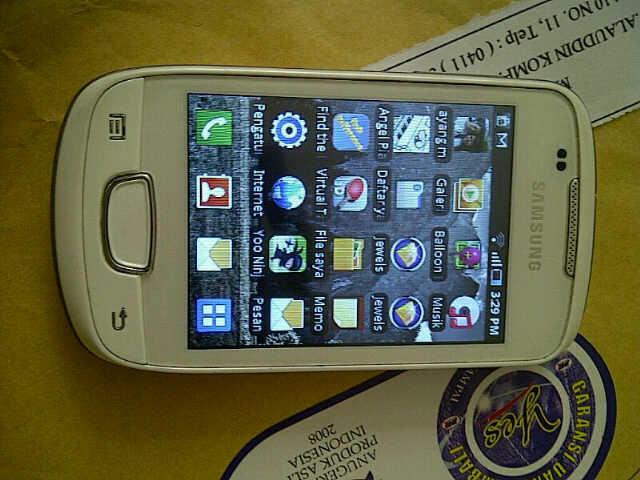 Samsung Galaxi Mini White S5570 (2nd)