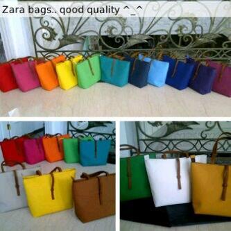 Murah bagus: ZARA look alike bag / MIDI - MAXI bag open for reseller dropship