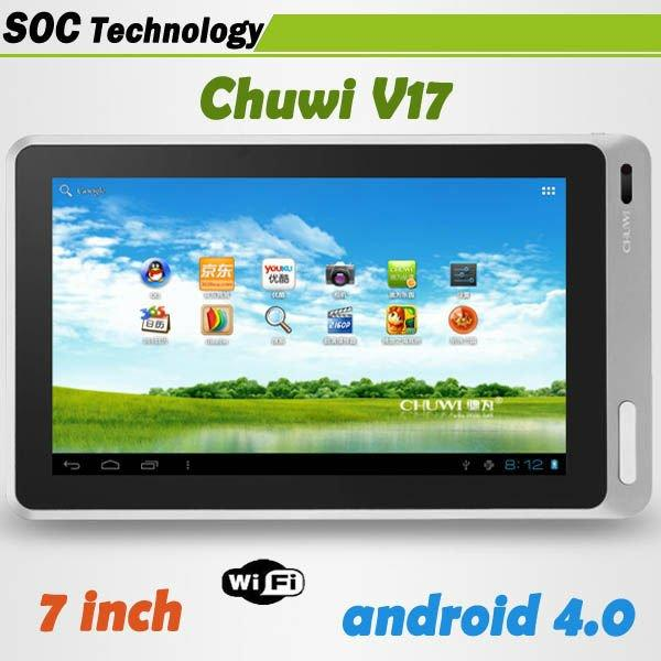 "CHUWI V17 , tablet 7"" allwiner A13, tablet murah 699rb spek mantap...."