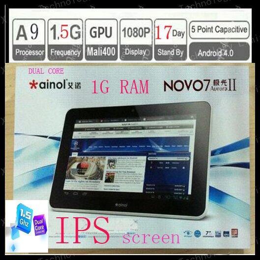 NOVO7 AURORA2 , tablet keren Ram 1GB, HDD16GB... harga termurah, Batch Product 1208