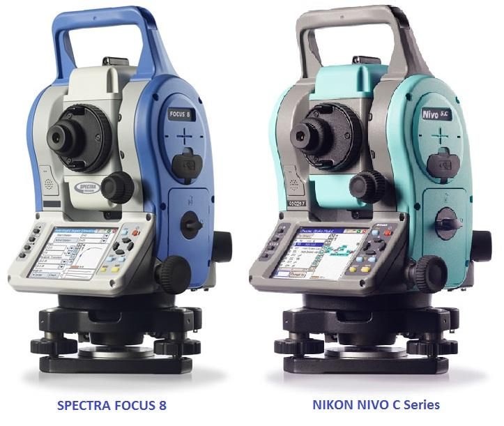 Total station Spectra FOCUS 8 (Nikon Nivo C series)
