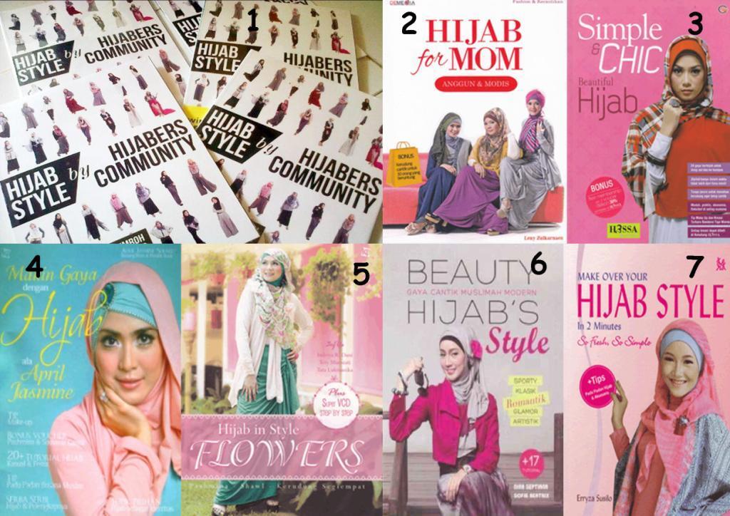 Jual Aneka Buku Tutorial Hijab Untuk Kamu Para Hijabers atau yang berkerudung