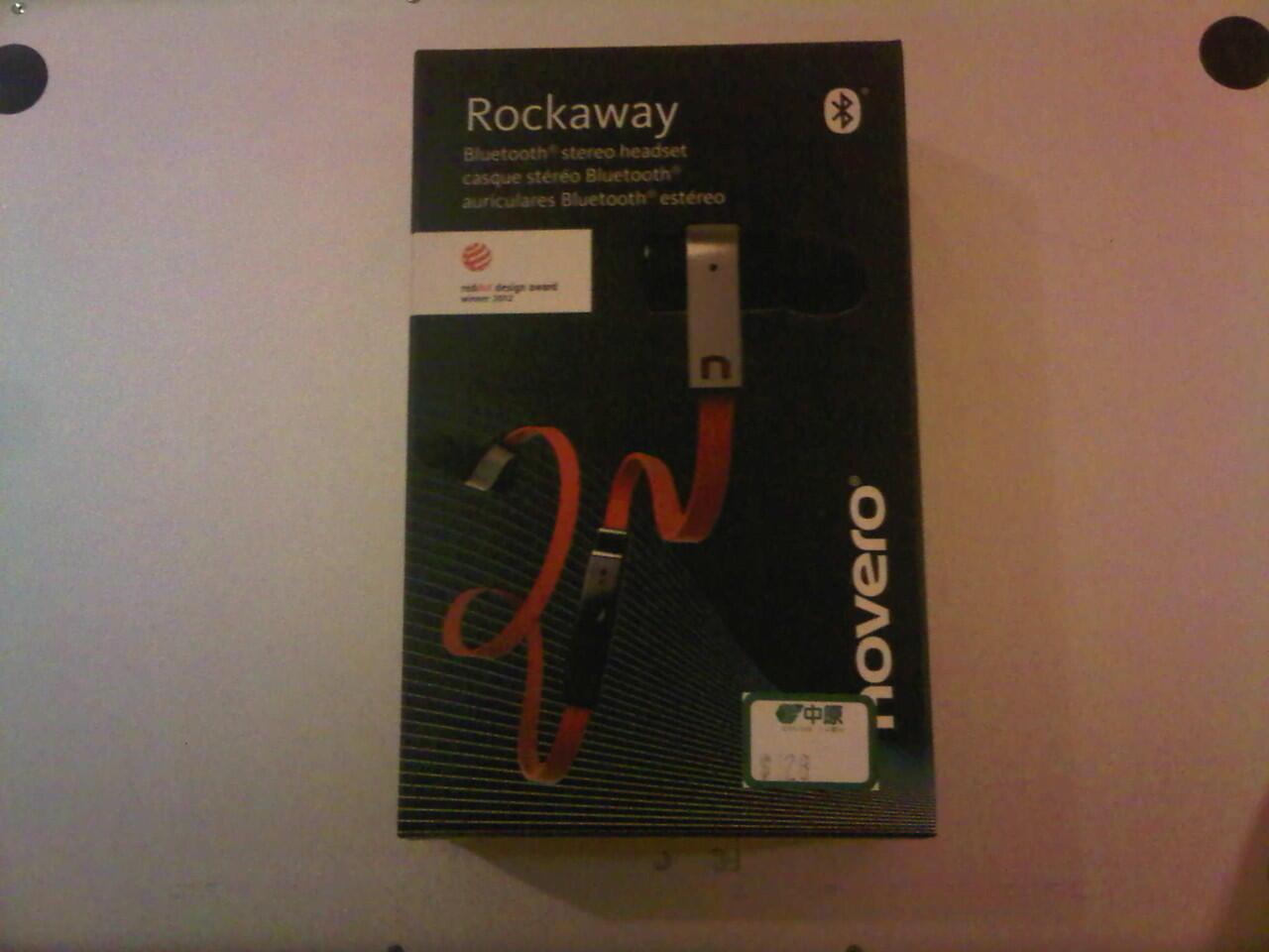 Rockaway BLUETOOTH STEREO HEADSET