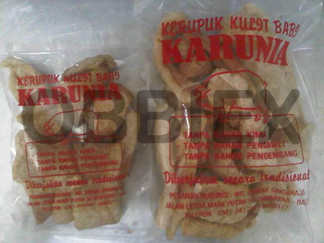 "Jual Kerupuk Kulit Babi ""KARUNIA [Since 1985]"" - Reseller Welcome"