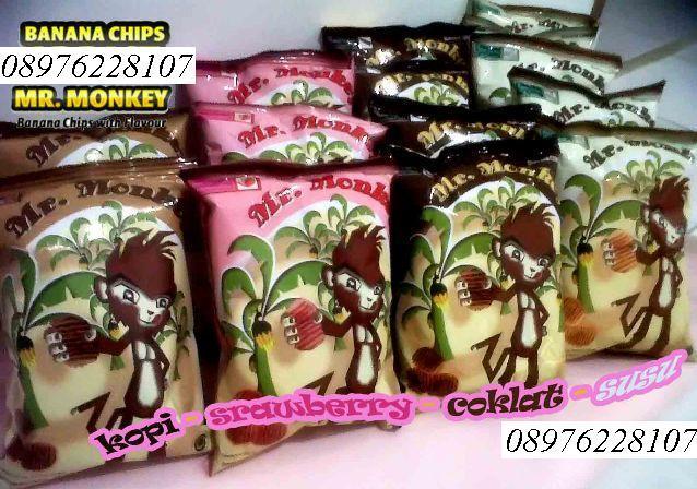 Mr Monkey Banana Chips MURAHHH !!!
