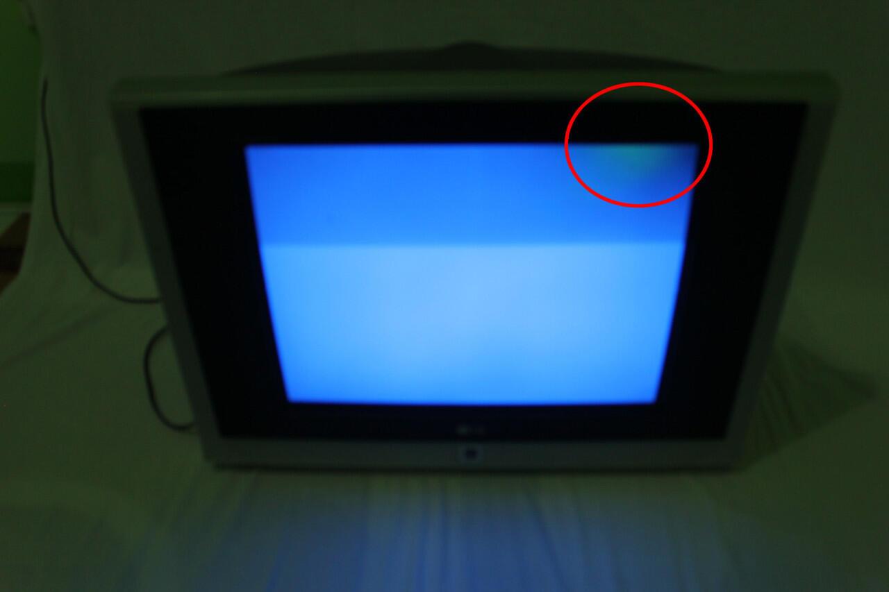 "jual TV LG Flatron 21"""