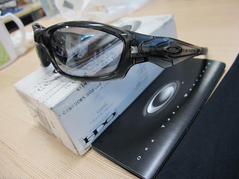 Oakley Straight Jacket 2.0 Grey Smoke/Slate Iridium, Asian Fit