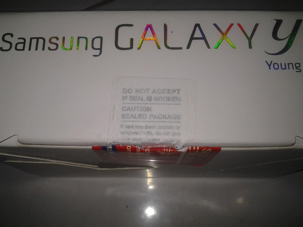 Samsung Galaxy Y BNIB murah!!