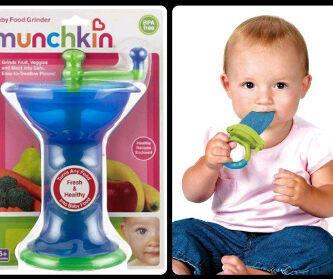 Munchkin Grinder Set (Penggiling Makanan Bayi)