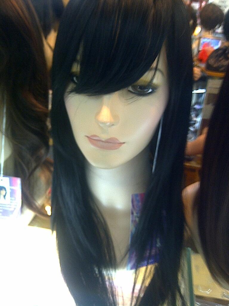 Wig High fiber bisa di catok