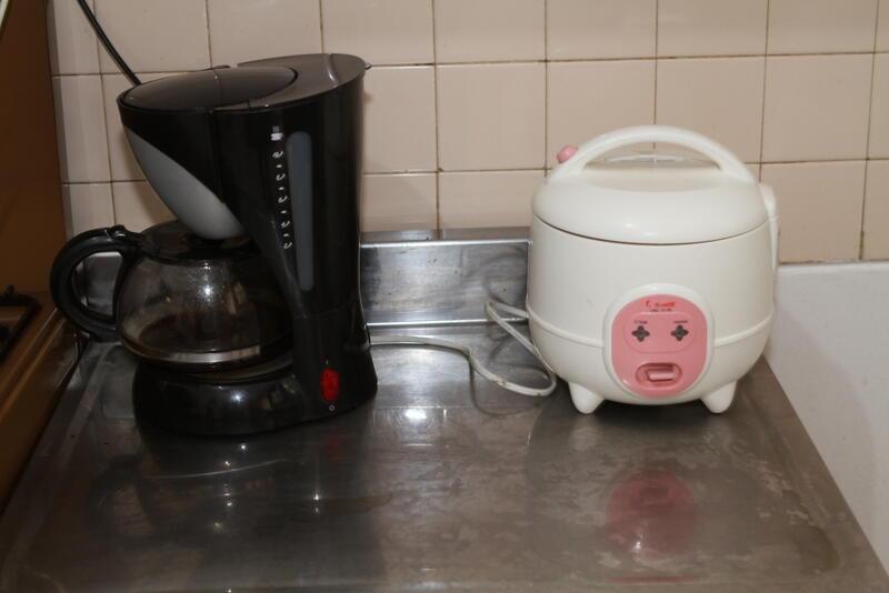 Jual kipas angin, rice cooker, coffee maker, kettle, kusi plastik murah!