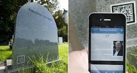 Unik! Mayat di Kuburan Ini Ditandai Dengan Sistem Barcode