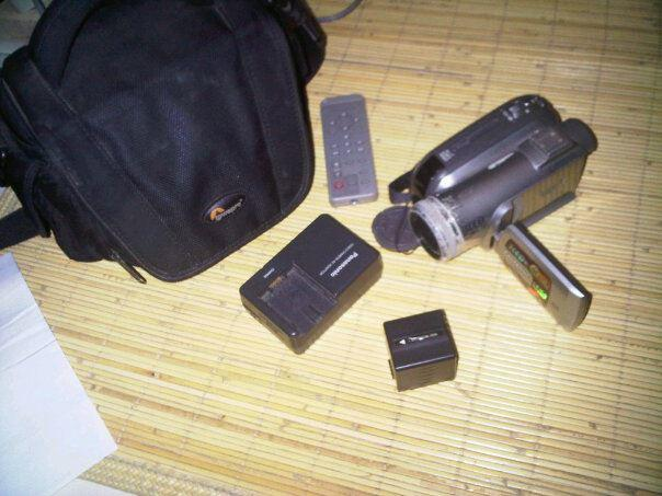 Handycam Panasonic NVGS320