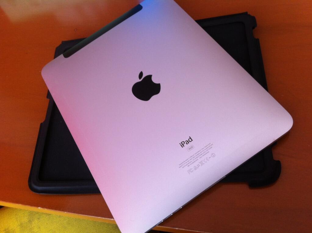 JUALMURAH ipad1 16gb wifi + 3g Mulus Komplit