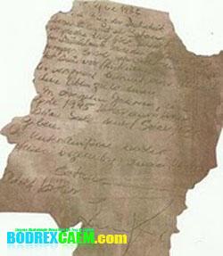 Ditemukan Surat Perjanjian Adolf Hitler dengan Setan