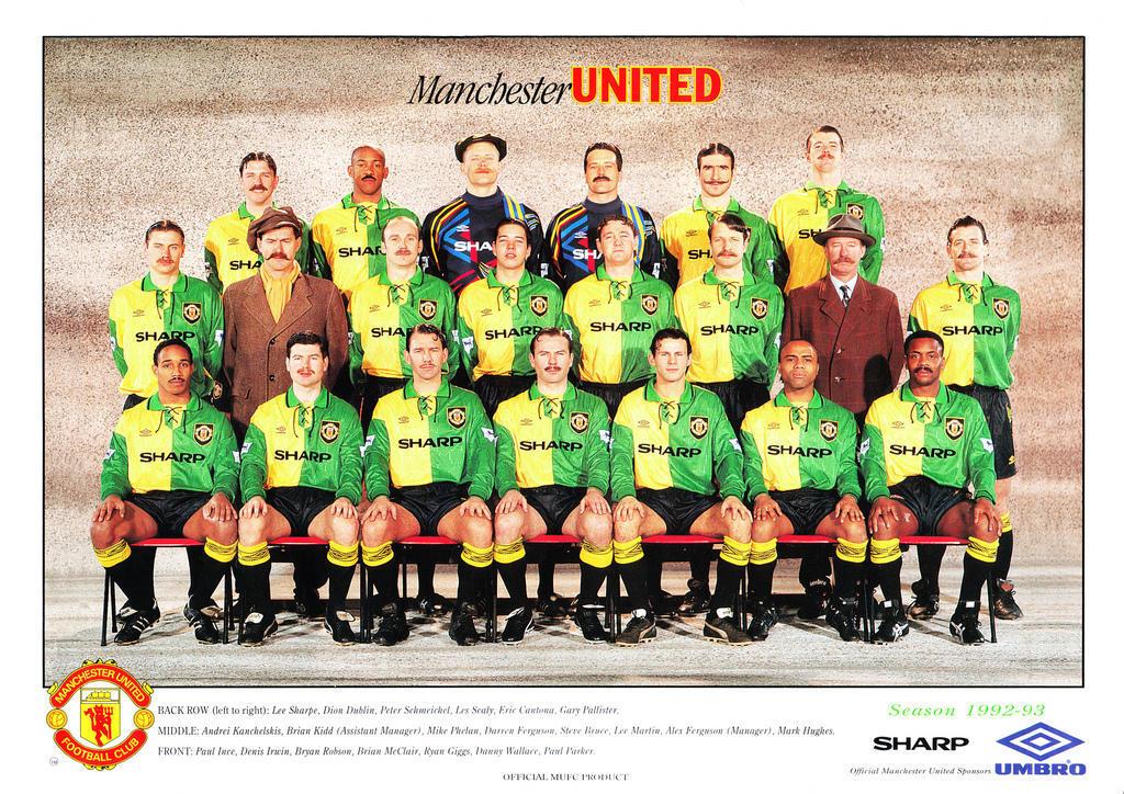 Manchester United 2012-13 Vs 1992-13