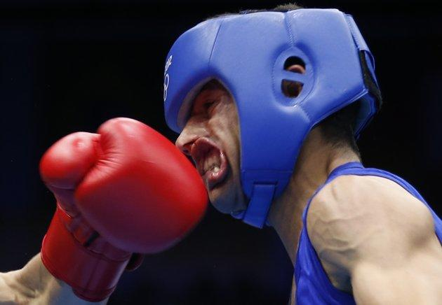 Foto2 para atlet demi meraih medali emas olimpiade 2012