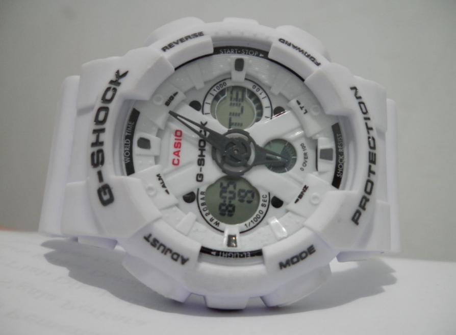 Tangan G Shock GA120 Full Putih