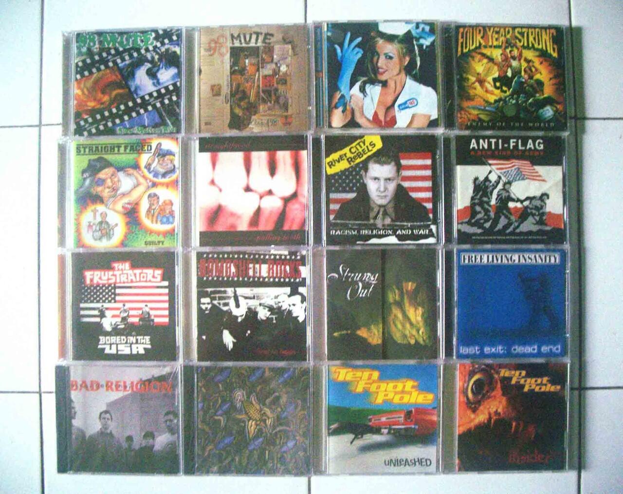 Jual CD Import Punk & HC second Ori .