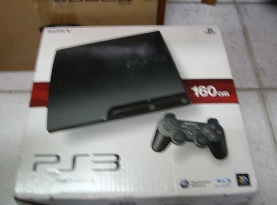 Playstation 3 / PS3 SLIM 160gb BARU 100% belum pernah dipakai (GRESS)