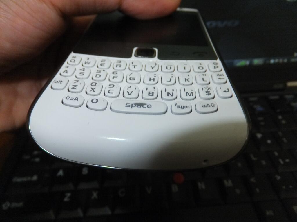 Blackberry Apollo 9360 2nd white mulus