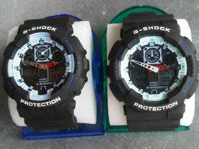 New G-Shock dan New Rolex Leather