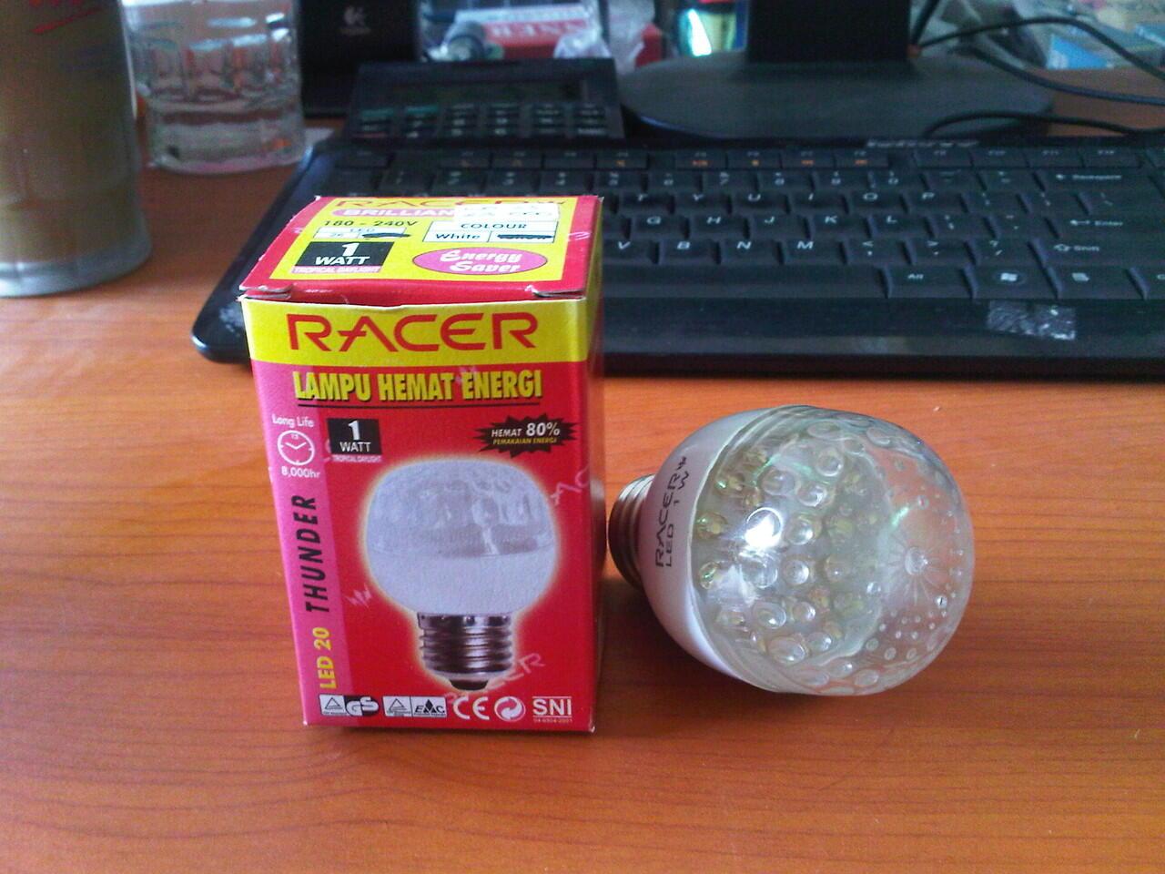 Lampu LED hemat energi