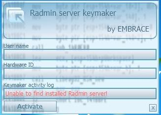 crack radmin 3.5 license code