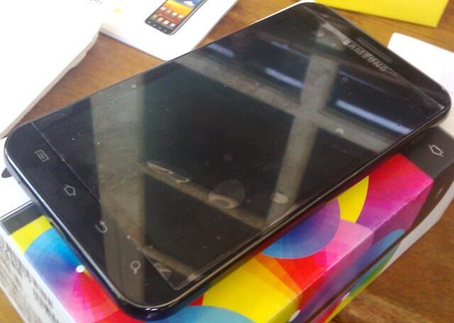 Hp android ics dualcore samsung galaxy s2 cdma epic touch fullset PLASTIKAN jogja