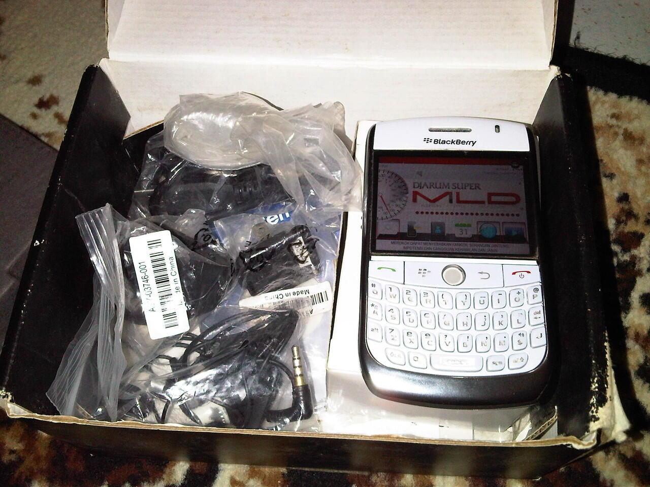 bb Blackberry Javelin 8900 White MULUS SOLO RAYA