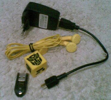 Jual MP3 Cube Transformer Edition 2nd (COD SURABAYA)