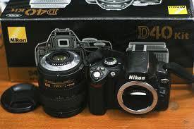 Nikon D40 Kit HRG/IDR Rp.4.200.000,JT- CALL/SMS:0823-2427-9978