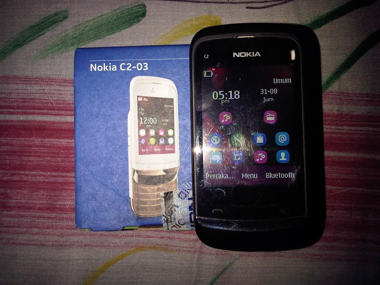 Nokia c2 - 03 Garansi Resmi Nokia. MURAH GAN!!!