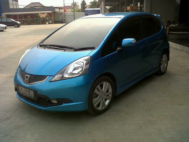 All New Jazz Rs At 1.5cc Tahun 2008 Good Condition