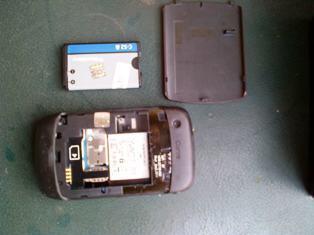 Blackberry curve gemini 8520 red garansi CTN Panjang