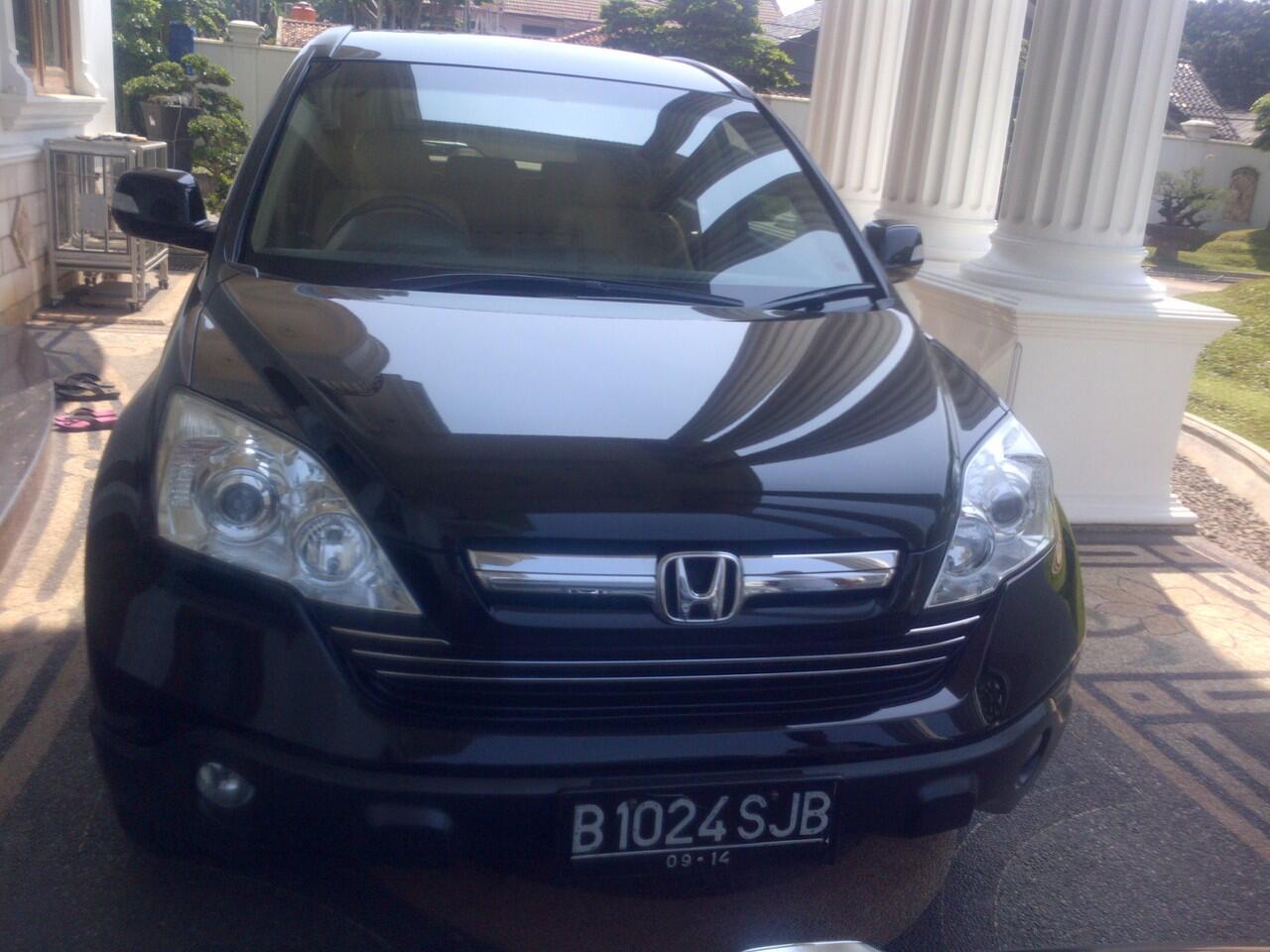 Honda All New CRV 2.4 A/T 2009 BLACK Mulusss Jual Cepat
