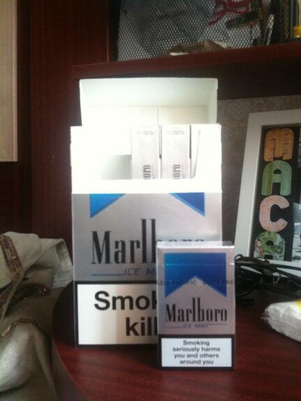 Marlboro ICE MINT Murah!! 270rb = 9 Bungkus! GRAB FAST!